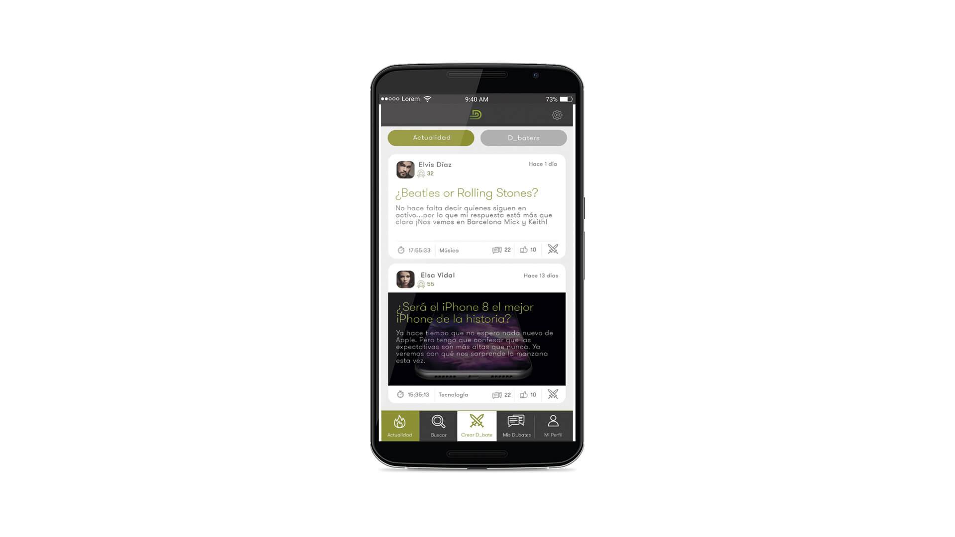 D-Bate App 4