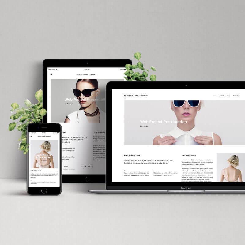 ProyectoDiseño Web Agencia creativa